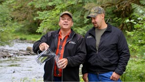 OFRI water TV commercial, Bob & Kirk, Oregon Forest Resources Institute, video production by @Large Films in Portland Oregon